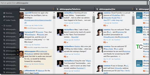 Is Seesmic best Salesforce Chatter desktop client